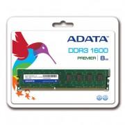 MEMORIA DDR3 ADATA 8GB 1600 MHz UDIMMM (AD3U1600W8G11-S)