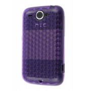 TPU Gel Case for HTC Wildfire G8 - HTC Soft Cover (Purple)