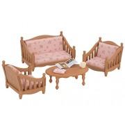 Epoch Sylvanian Families Furniture Sofa Arm Chair Set