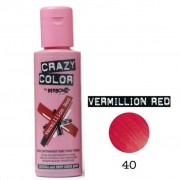 Vermillion Red 100ml - Vopsea Semipermanenta - Crazy Color