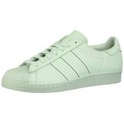 Adidas Superstar 80s- Zapatillas Altas para Hombre, Ash Green, 8