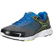 Fila Men's Maranello 2 Castle Rock, Prince Blue and Safety Yellow Running Shoes - 8 UK/India (42 EU)