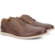 Clarks FRANSON PLAIN TAN LEATHER Boat Shoes For Men(Tan)