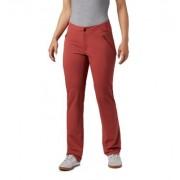 Columbia Pantalon coupe droite Back Up Passo Alto - Femme Dusty Crimson 38 FR