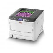 Oki C612dn - Impressora - a cores - Duplex - LED - A4 - 1200 x 600 ppp - até 36 ppm (mono)/ até 34 ppm (cor) - capacidade: 400