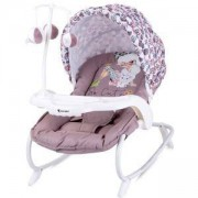 Бебешки шезлонг Dream Time, Lorelli, Beige Fashion Girl, 0740071