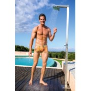 Kiniki Tropic Tan Through Hipster Shorts Square Cut Trunk Swimwear TPNR