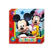 Disney Mickey Mouse Club House 2-Ply Paper Napkins - Set of 2