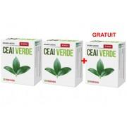 Ceai verde 30 capsule 2+1 GRATUIT