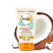 Lovea Gommage Corps Douceur à l'Huile de Coco Certifié Bio* 150 ml