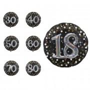 Liragram Globo de Burbujas de Champagne gigante con número 3D de 81 cm - Número 40