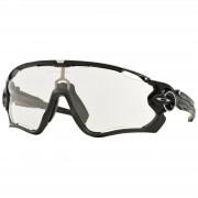 Oakley Jawbreaker Photochromic Road Sunglasses - Polished Black