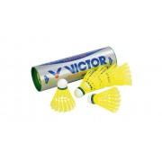 Victor 6 gelbe Badminton-Bälle