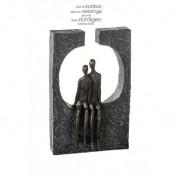 """Sculpture tête à tête """"Casablanca"""""""