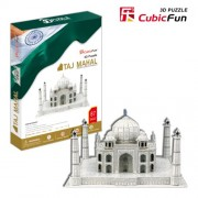 Free Shipping!Diy 3d Puzzle Paper Model Taj Mahal 87pcs Home/Office Decoration