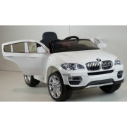 Džip na akumulator za decu BMW X6 model 229 beli