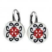 Rebeca - Cercei Argint Handmade - Motive Traditionale