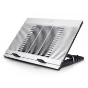 "Notebook Stand, DEEPCOOL N9, 17"", Aluminium, Silver (DP-N136-N9SR)"