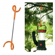 Multi Funcion S Tipo Dos Forma Espiral Outdoor Camping Carpa Luz Hook