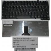 Clavier Qwerty Italien / Italian Pour Acer Travelmate TM290 290 291 290D 290E 292 2350 3950 4050 Series, Extensa 2350 2900E Series, Noir / Black, Model: K021102J7, P/N: PK13ZLH1400, KBT350C0068