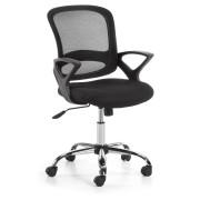 Kave Home Cadeira de escritório Tangi , en Tecido - Preto
