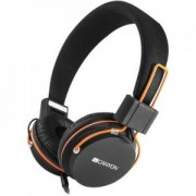 Слушалки CANYON headphones, detachable cable with microphone, foldable, Черни. CNE-CHP2