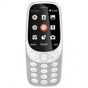"Mobilni telefon Nokia 3310 DS Sivi, 2.4"", 3G, 2Mpix, BT, 1200mAh"