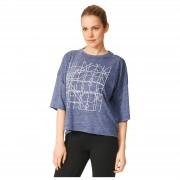 adidas Women's Over Sized Graphic Training T-Shirt - Navy - XS - Navy