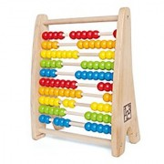 Hape - Early Explorer - Rainbow Wooden Bead Abacus