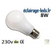 Ampoule Led E27 liquide 8w blanc Naturel IP65 230v