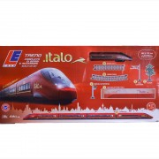 Kit trenulet electric Italo NTV cu baterii Let13201