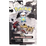 Zoroark Sandile Oshawott: Pokemon Black And White Mini-Figure Multi-Pack Series 1