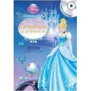 Disney - Cenusareasa si prietenii ei Carte + CD Audio. lectura Stela Popescu