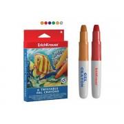 Creioane colorate acuarela cu gel 6 culori/set ERICHKRAUSE Twist