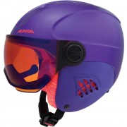 Alpina Carat LE Visor HM royal-purple matt (2018/19)