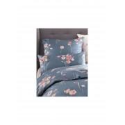 Elegante Satin-Kissenbezug ca. 40x80cm Elegante grau