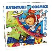 Puzzle Aventuri cosmice, 54 piese