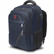 "Backpack Ejecutiva de 18"" para laptop Mc.Carthy MOD. MC19-7 Azul Marino"