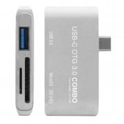 Unotec Adaptador USB-C a USB 3.0/MicroSD/SD
