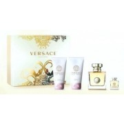 Versace pour femme Set EdP 50 + edp 5 + bagnoschiuma + latte corpo