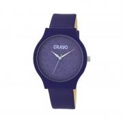 Crayo Glitter Strap Watch - Purple CRACR4507