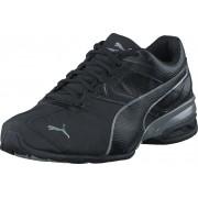Puma Tazon 6 FM Black- Silver, Skor, Sneakers & Sportskor, Löparskor, Svart, Herr, 42