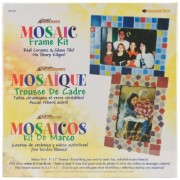 Jennifer s Mosaics Mosaic Picture Frame Kit, Makes 2 Frames