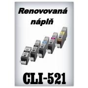 SuperNakup - Náplň do tiskárny Canon CLI-521M - magenta - renovovaná