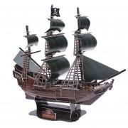 3D Modelo de barco hecho a mano en miniatura de juguete - La perla Negra