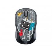 Logitech M238 RF Wireless Optical 1000DPI Ambidextrous Multi mice