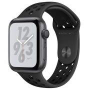 Apple Watch Nike+ Series 4 GPS 44mm Alumínio Cinzento Sideral com Bracelete Desportiva Nike Antracite/Preto