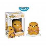 Gudetama with beacon sanrio the lazy egg Funko pop anime serie huevo tocino INCLUYE BOLSA POP DE REGALO