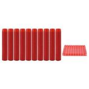 Nerf-N-Strike & Elite Rampage Retaliator Series Blasters Refill Clip Darts Soft Nerf Bullet ( package of 50 ) - RED by Eva