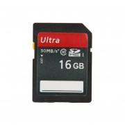 SDHC Tarjeta De Memoria De La Cámara 16GB Ultra High Speed Class 10 ( 100 % De La Capacidad Verdadera )